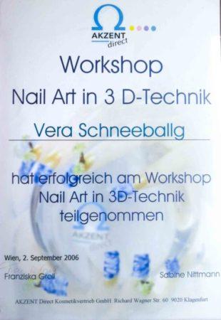 Vera Nagelstudio Zertifikat Nägel